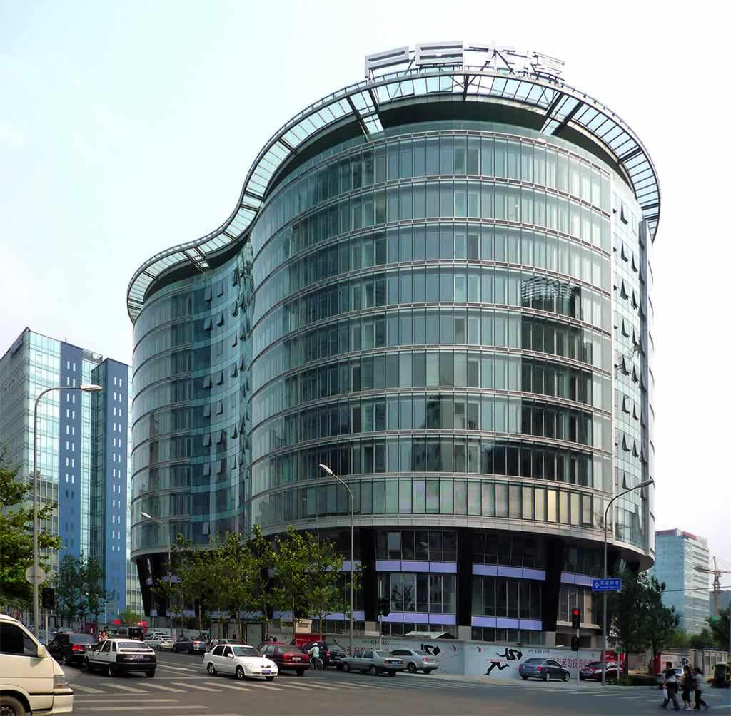 High Tech Modern Architecture Buildings: Beijing High-tech Park